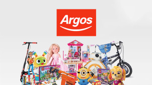 Up to 50% off 1,000's of Toys at Argos