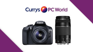 Up to £80 Cashback on Selected Canon Cameras and Lenses at Currys