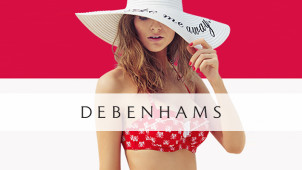 10% Off First Orders Over £50 at Debenhams