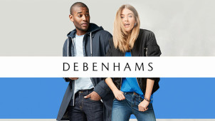 20% off Men's & Women's Denim at Debenhams