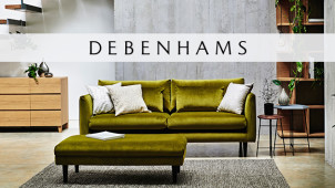 Up to 50% Off New Sofas & Chairs Plus 10% Off Orders Over £50 at Debenhams