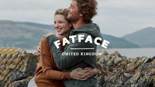 Free Delivery on Orders Over £60 + Free Returns at Fat Face