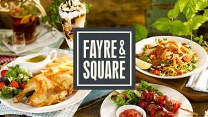 40% off Mains at Fayre & Square