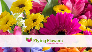 12% off Bouquets at Flying Flowers