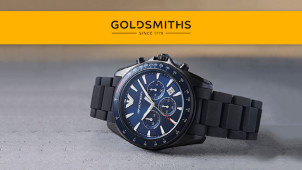 16% off Selected Designer Watches at Goldsmiths