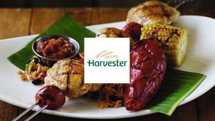 2 Chicken Dishes & 2 Drinks for £20 at Harvester
