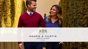 5 Casual Shirts for £100 at Hawes & Curtis