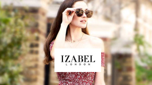 15% Off Orders at Izabel London