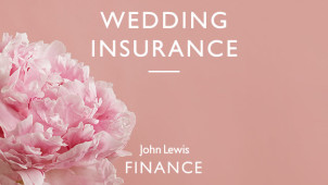 Wedding Insurance from £60 at John Lewis Wedding Insurance