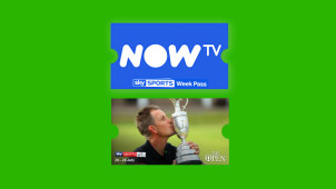 20% Off Sky Sports Week Pass at NOW TV - Catch the Open!