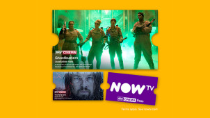 Free 14 Day Sky Cinema Trial Plus a £20 Retail Voucher with £9.99 Pass at NOW TV