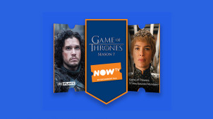Up to 35% Off NOW TV Entertainment Pass - Don't Miss Game of Thrones Season 7