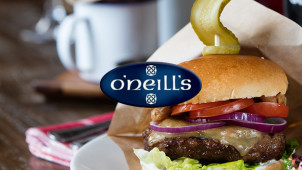 40% Off Your Food Bill at O'Neill's Pub & Grill