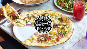 25% off Food on Sundy at Pizza Express
