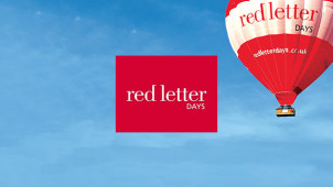 15% Off Experiences at Red Letter Days