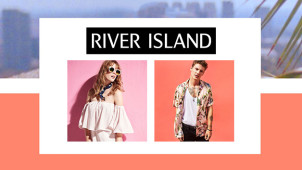 15% Off Orders Over £75 at River Island