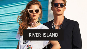 Seasonal Styles! 30% Off Fashion and Accessories at River Island