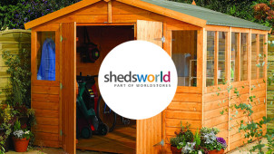 Free Delivery on Orders Over £50 at ShedsWorld