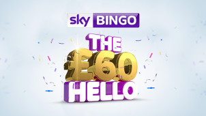 Spend £10 Play with £60 at Sky Bingo