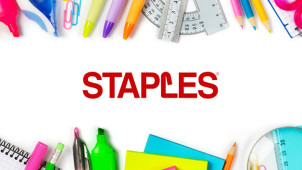 £10 Off with Newsletter Sign-Ups at Staples