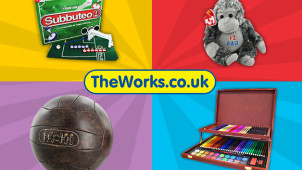 15% Off Orders Over £20 at The Works