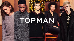 Up to 50% off Seasonal Styles at TOPMAN