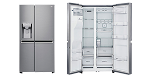 £150 off LG Stainless Steel American-Style Fridge Freezer - Was £1,299.99 Now  £1,149.99 at Currys