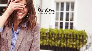Up to 50% off in the Mid Season Sale + 10% off Full Price Items at Boden