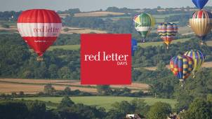 20% off Experiences at Red Letter Days
