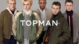 £10 off £60, £20 off £100 and £30 off Orders Over £150 at TOPMAN